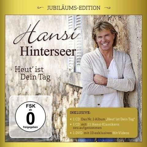 Hansi Hinterseer - Heut' ist Dein Tag (Jubiläums-Edition 2CD+DVD 2014)