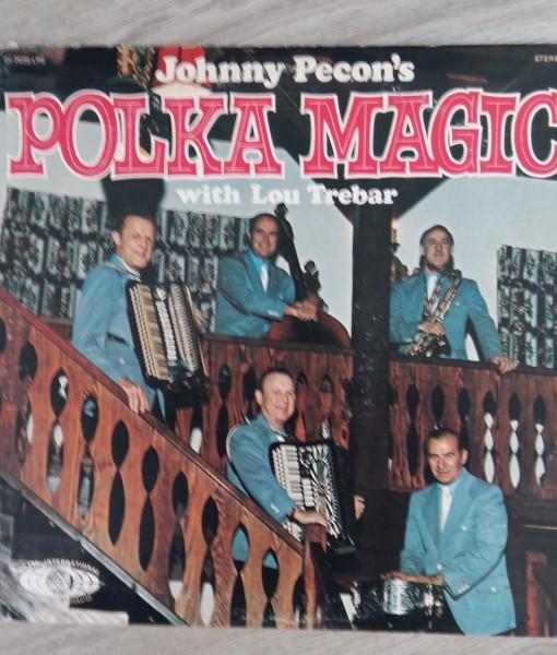 Johnny Pecon's - Polka Magic ( LP)