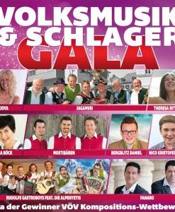 Various - Volksmusik & Schlager Gala (CD 2016)
