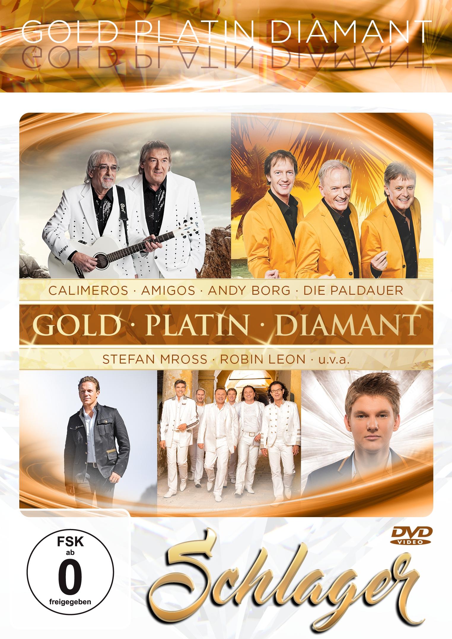 Gold ' Platin ' Diamant - Schlager (DVD 2017)