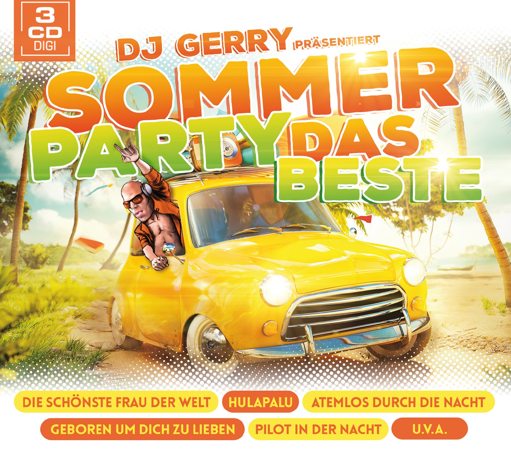 DJ Gerry präs. Sommer Party - Das Beste (3CD 2017)