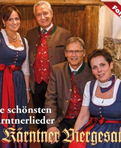 KÄRNTNER VIERGESANG - Die schönsten Kärntnerlieder (CD 2017)