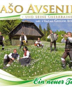 SASO AVSENIK U.S. OBERKRAINER - Ein neuer Tag (CD 2017)