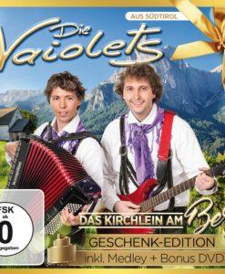 DIE VAIOLETS - Das Kirchlein am Berg - Geschenk-Edition (CD + DVD 2017)