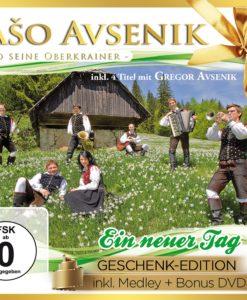 SASO AVSENIK & SEINE OBERKRAINER - Ein neuer Tag - Geschenk-Edition (CD + DVD 2017)