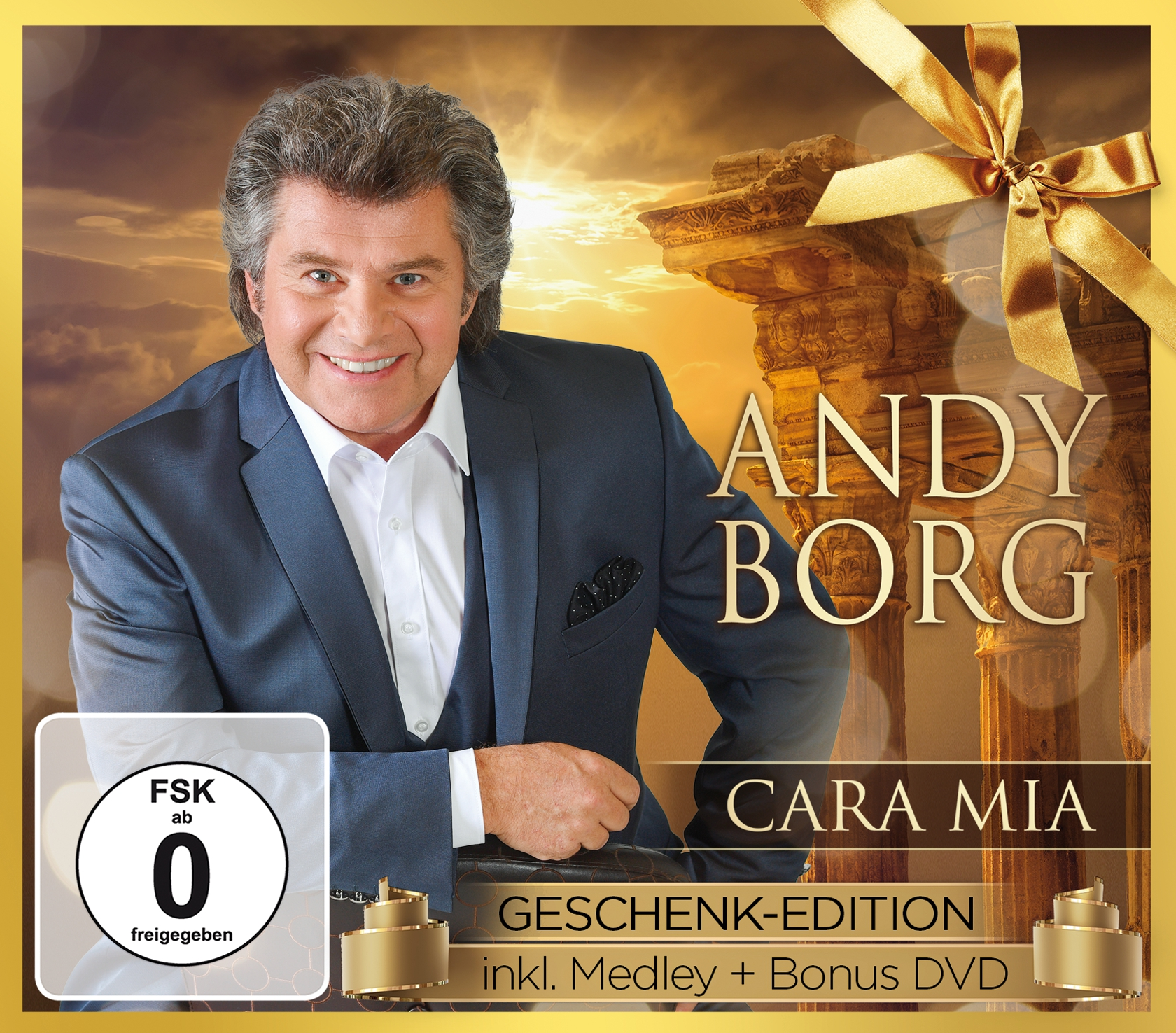 ANDY BORG - Cara mia - Geschenk-Edition (CD + DVD 2017)