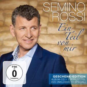 Semino Rossi - Ein Teil von mir - Geschenk Edition (DVD + CD 2017)