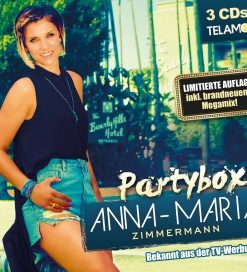 Anna-Maria Zimmermann - Partybox (3CD 2017)
