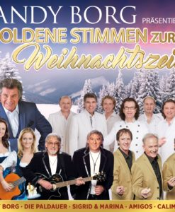 ANDY BORG präsentiert - Goldene Stimmen zur Weihnachtszeit (CD 2017)