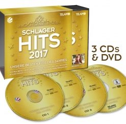 Various - Schlager Hits 2017 (3CD, 1DVD 2017)
