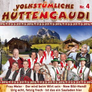 Various - Volkstümliche Hüttengaudi Nr. 4 (2CD 2017)