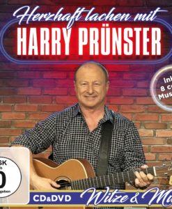 HARRY PRÜNSTER - Herzhaft lachen mit Harry Prünster - Witze & Musik (CD + DVD 2017)