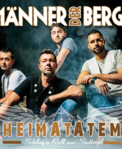 MÄNNER DER BERGE - Heimatatem - Schlag'n Roll aus Südtirol (CD 2018)