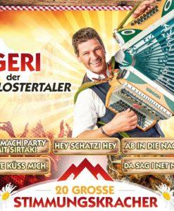 GERI DER KLOSTERTALER - 20 große Stimmungskracher (CD 2017)