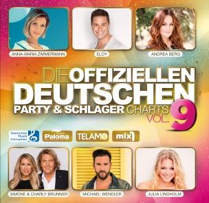 Various - Die offiziellen deutschen Party & Schlager Charts Vol. 9 (2CD 2018)