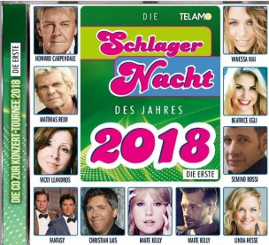 Various - Schlagernacht des Jahres 2018 - Die Erste (CD 2018)