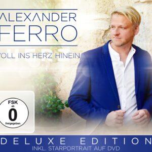 ALEXANDER FERRO - Voll ins Herz hinein - Deluxe Edition inkl. Starportrait auf DVD (DVD 2018)