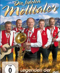 DIE FIDELEN MÖLLTALER - Legenden der Volksmusik (DVD 2018)
