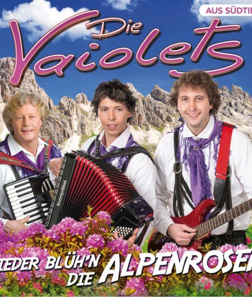 DIE VAIOLETS - Wieder blühen die Alpenrosen (CD 2018)